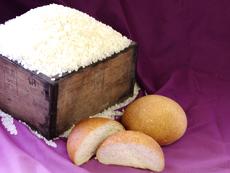 農家の手作り米パン