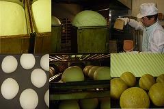 米パンの発酵、焼成